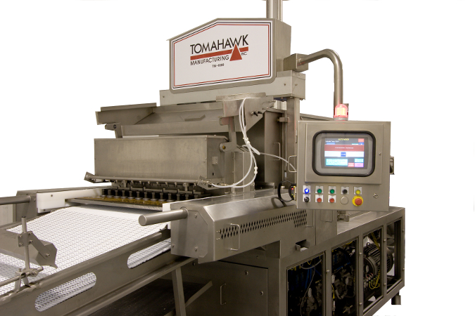 TM-1000 Patty Forming Machine. Courtesy Tomahawk Manufacturing, Inc